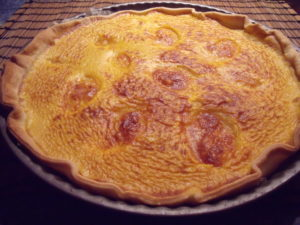 Tarte potiron jambon mozzarella