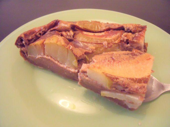 Clafoutis de poires au chocolat 2
