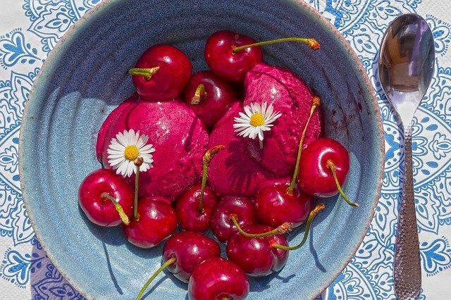 Sorbet aux fruits maison